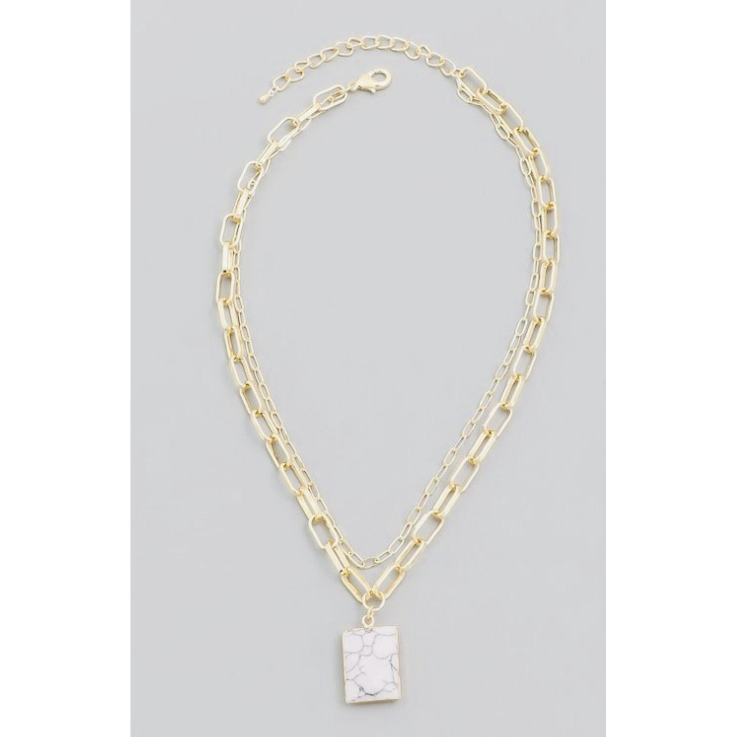 New ! Pavia Link Necklace - Glamco Boutique