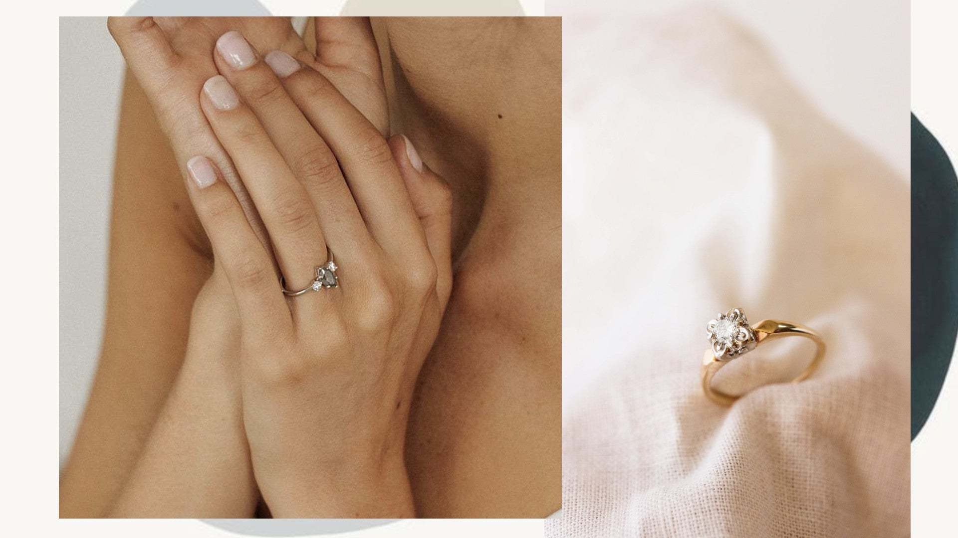 Vancouver handmade ethical diamond engagement rings