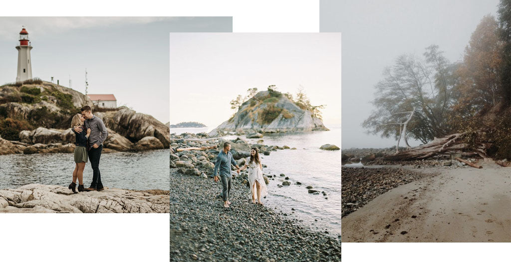 Lighthouse park, Whytecliff Park, and Wreck Beach