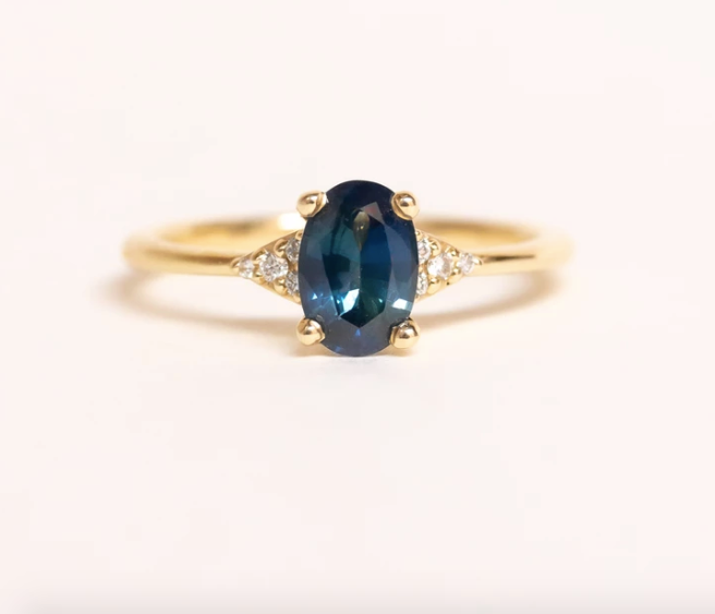 Vancouver Sapphire Engagement Ring