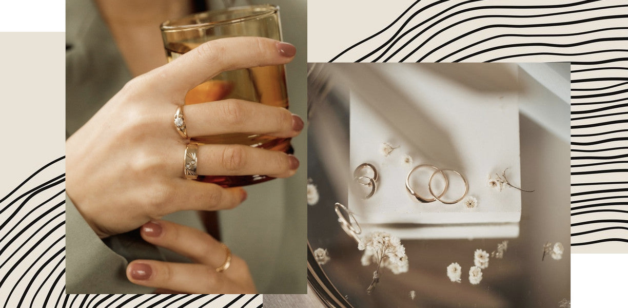 Upcycled Engagement Rings by Vancouver bridal shop Evorden.