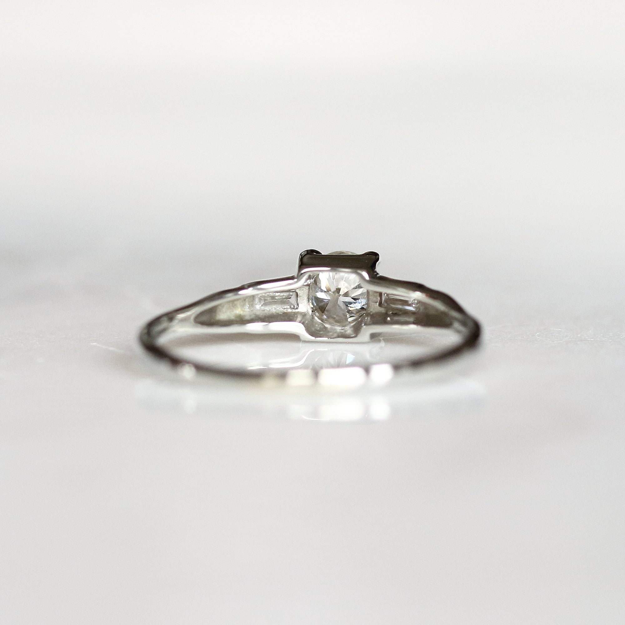 wedding pin round diamonds off baguettes weddingbee with rings baguette show your
