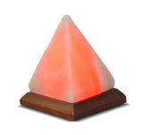 Pyramid Himalayan Salt Lamp with USB Plug