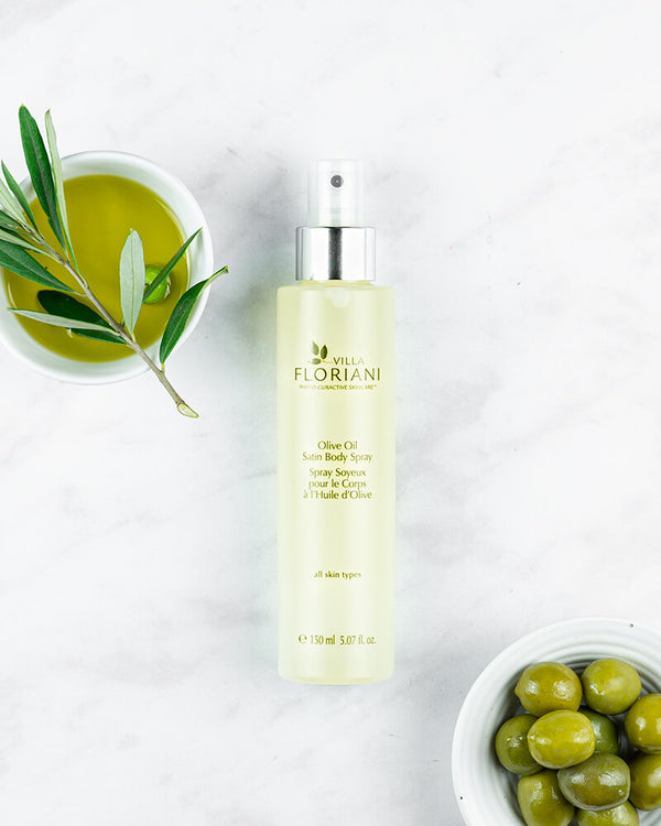 Olive Oil Satin Body Spray