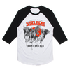 SIZZLE PIE HEAVEN AND HELL AND PIZZA RAGLAN