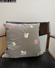 CITRUS CUSHION VELVET