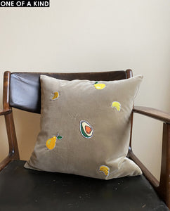 FRUIT CUSHION VELVET