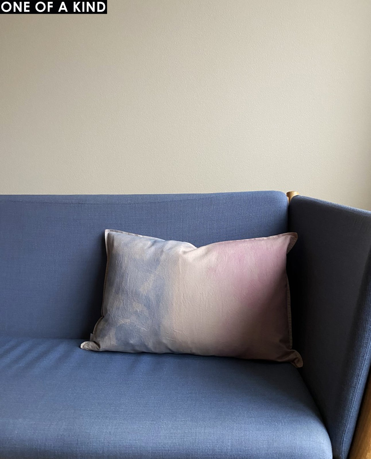 PINK ~ BLUE CUSHION