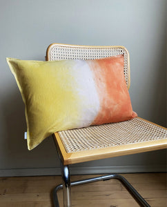 YELLOW ~ ORANGE CUSHION