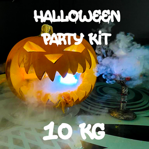Halloween dry ice party pack 10kg