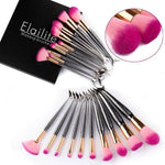 10PCS Unicorn Mermaid Makeup Brushes