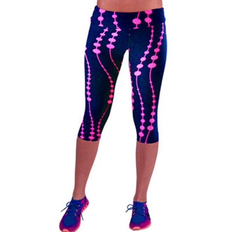 High-Waist Printed Leggings