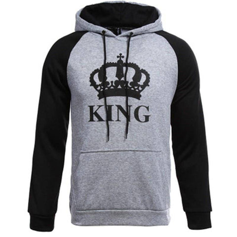 Fresh King And Queen Hoodies