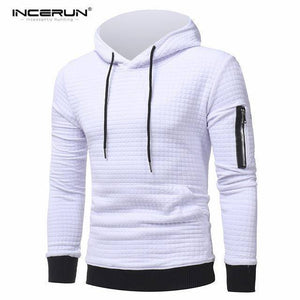 Long Sleeve Solid Pullover Outwear Hooded Hoodie
