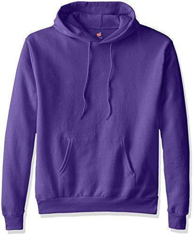 Image of Hanes Men's Pullover EcoSmart Fleece Hooded Sweatshirt