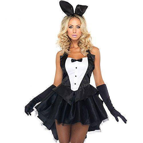 Halloween Bunny Costume | Fancy Cosplay Rabbit Tuxedo for Party Dress