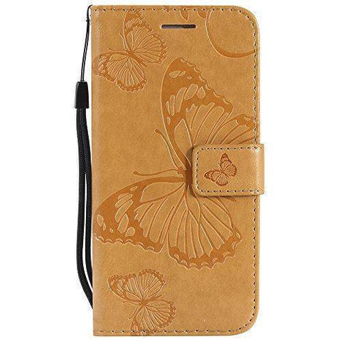 Image of Leather Wallet Case For  iPhone 6/ iPhone 6s | Flip Stand, Credit Card Slot
