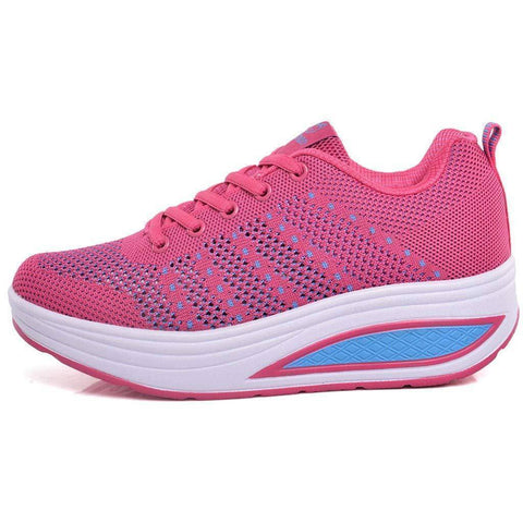 Image of Women's Fashion Lace-up Sneakers | Fitness