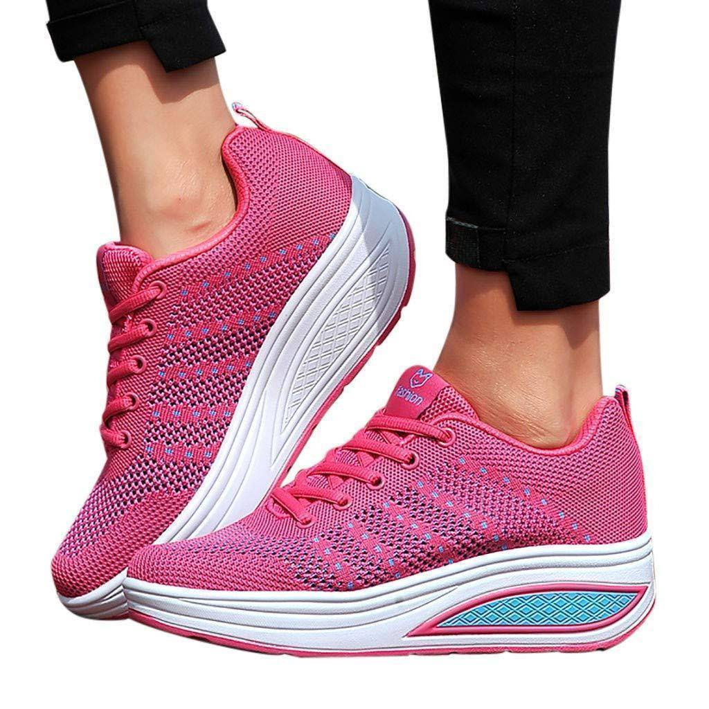 Women's Fashion Lace-up Sneakers | Fitness