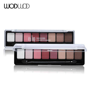 8 Earth Color Nude Makeup Eye Shadow Palette