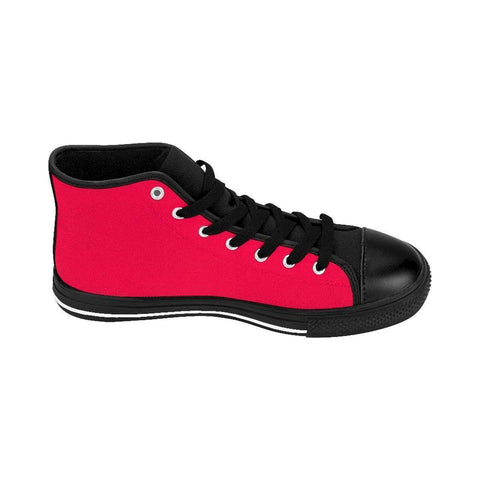 Image of A18 Red High Tops Men