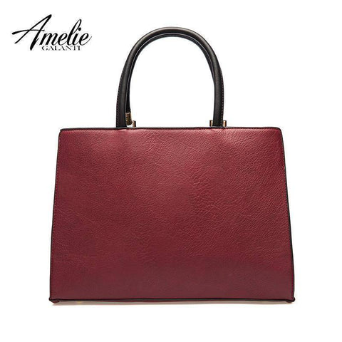 AMELIE GALANTI stitching ladies luxury women handbag