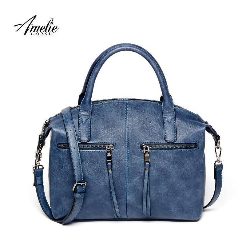 AMELIE GALANTI women high quality PU tote handbag