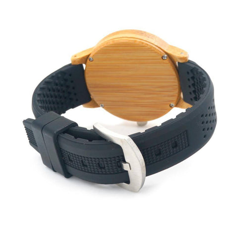 Image of BOBO BIRD Simple Style Bamboo Wooden Watches