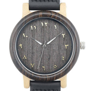 Crypto N16 Wooden Watches