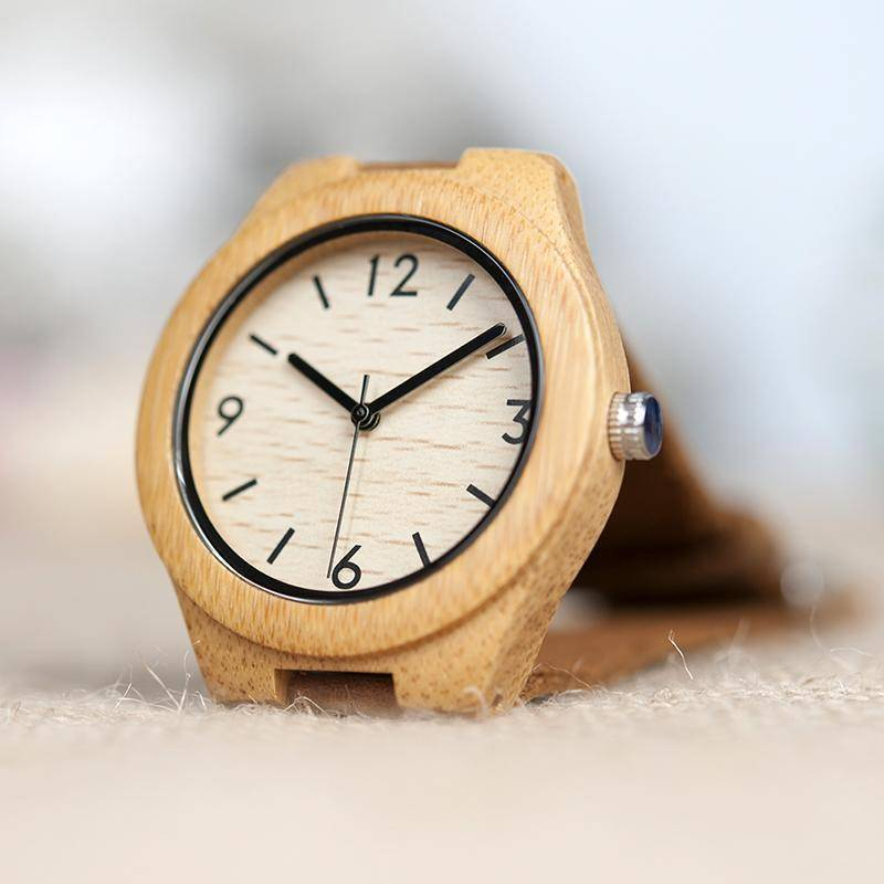 BOBO BIRD WA44 Bamboo Wooden Watches