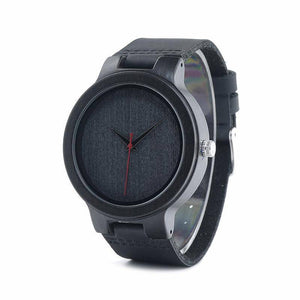 BOBO BIRD WC22 Ebony Wood Watch