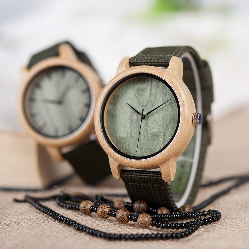 BOBO BIRD WD11D12 Wood Bamboo Watch