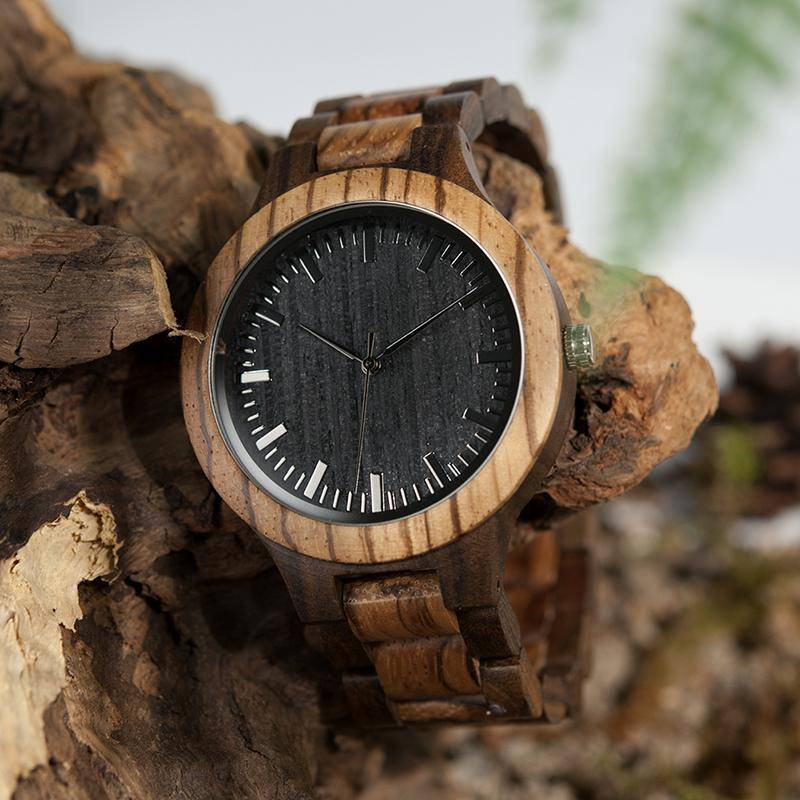 BOBO BIRD WD30 Zabra  Wood Watch