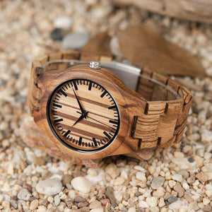 BOBO BIRD WG22 Top Quality Wood Watch