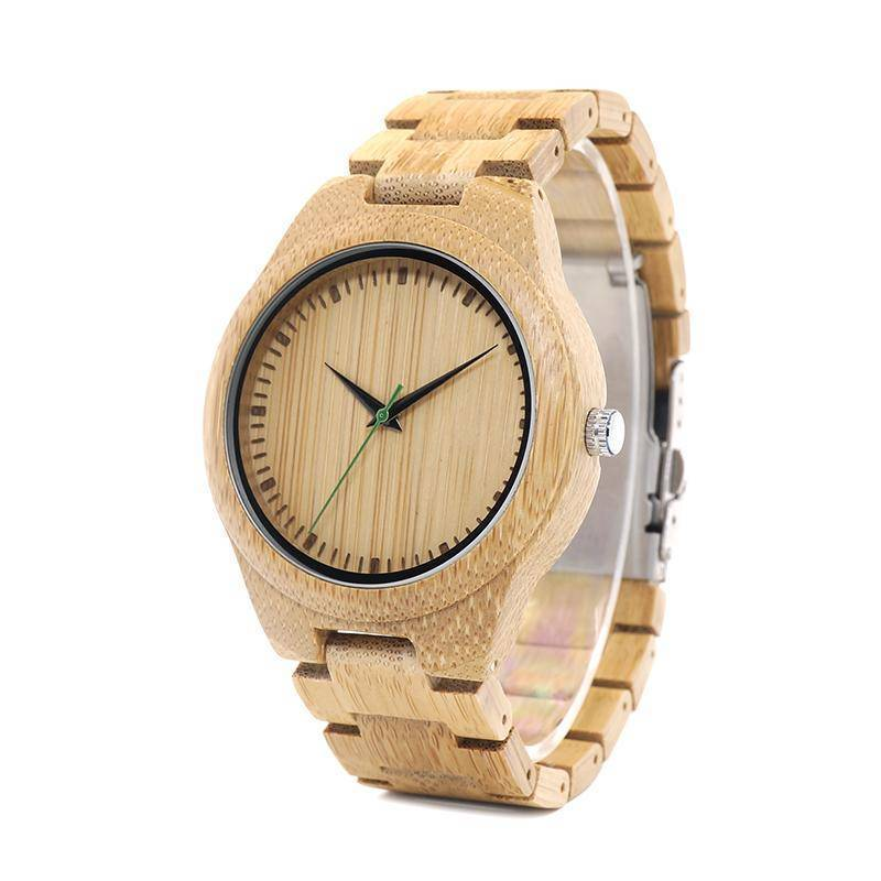 BOBO BIRD WG26 Bamboo Band Watch