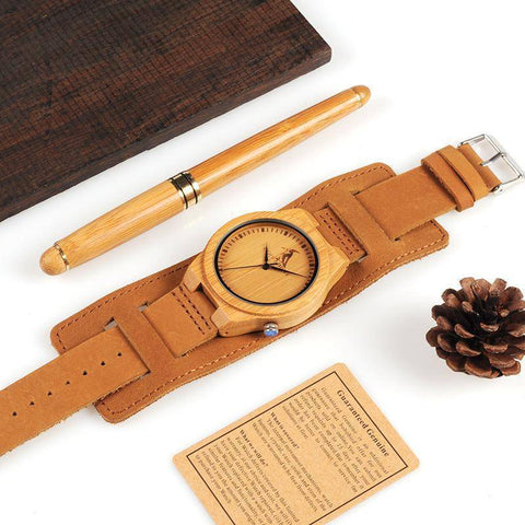 Image of BOBO BIRD WL21  Bamboo Wood Watches