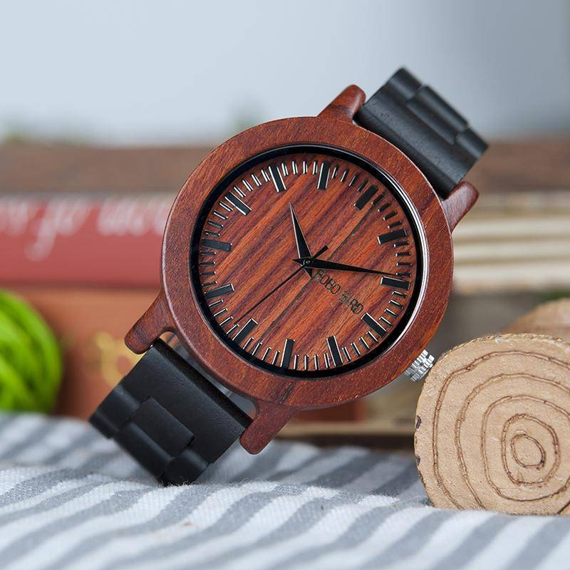 BOBO BIRD WM05 Men Women Wooden Watch