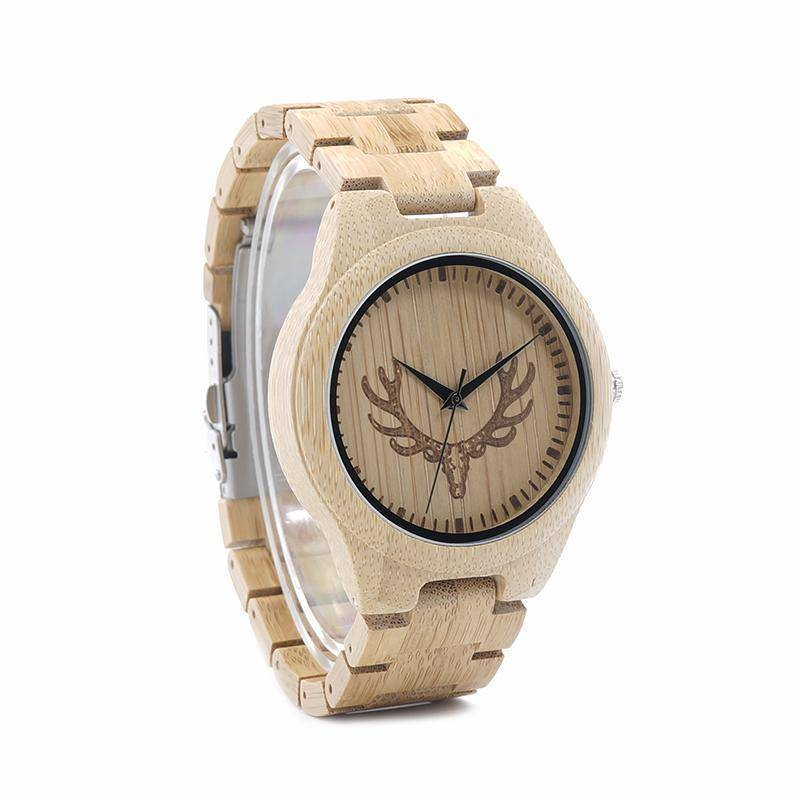 BOBO BIRD WM09 Full Bamboo Watch