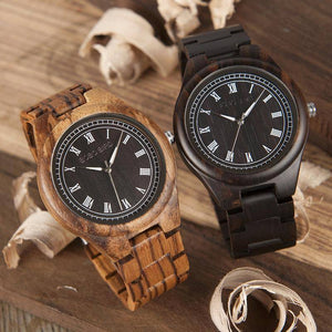 BOBO BIRD WO18O19 Zebra Wooden Watches