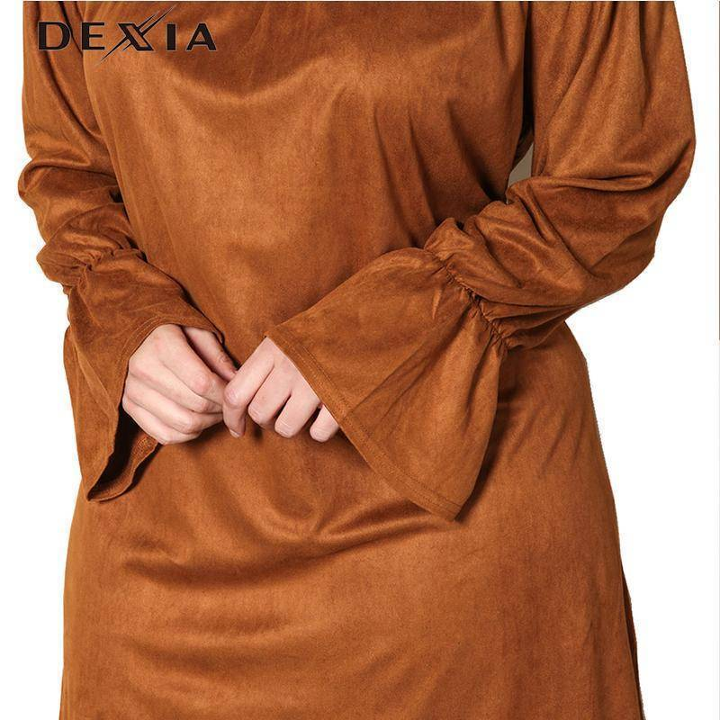 DEXIA Loose Full Sleeve Women Dress