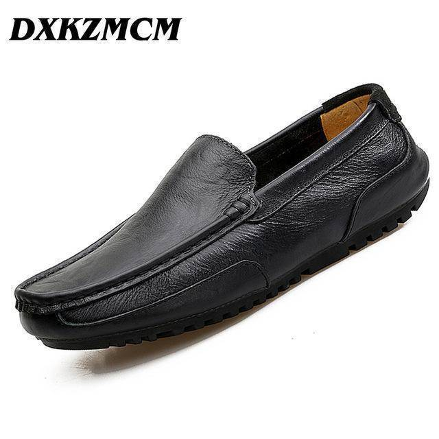 DXKZMCM Split Leather Casual Shoes