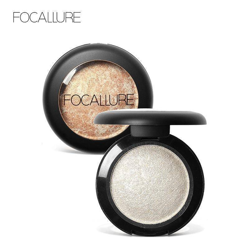 FOCALLURE 10 Colors Baked Professional Eyeshadow Cosmetic