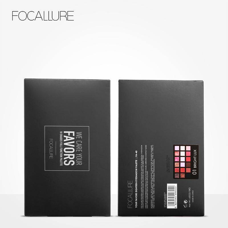 FOCALLURE 18 Colors Eyeshadow Palette Matte
