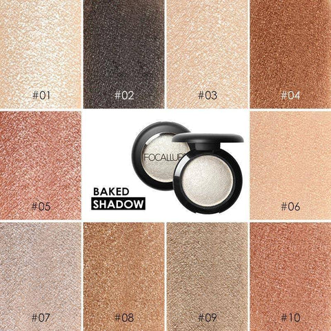 Image of FOCALLURE Single Baked Eye Shadow Powder Makeup Palette