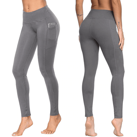 Women's Plus Size Elastic High Waist Push Up Leggings