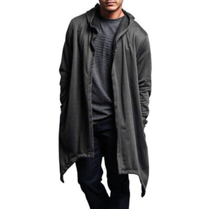 Long Sleeve Cardigan Casual Hip Pop Outwear Hoodies