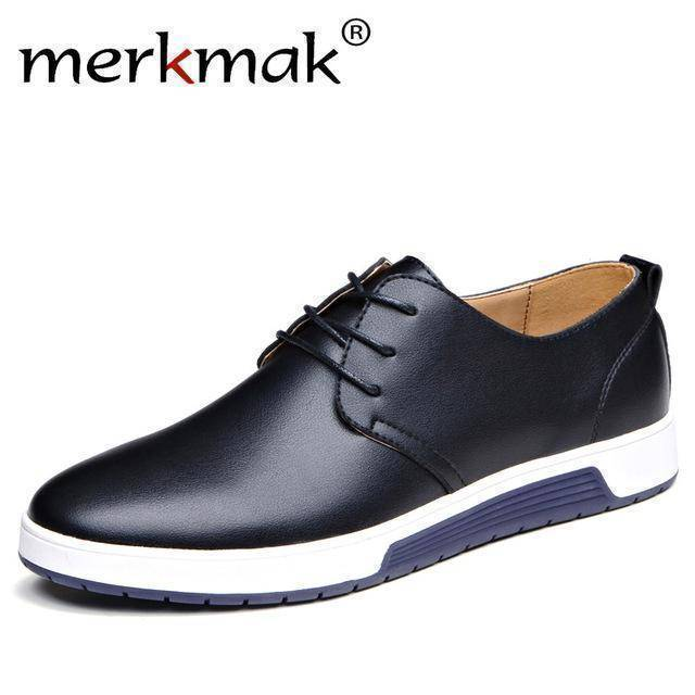 Merkmak Luxury Brand Casual Leather Shoes