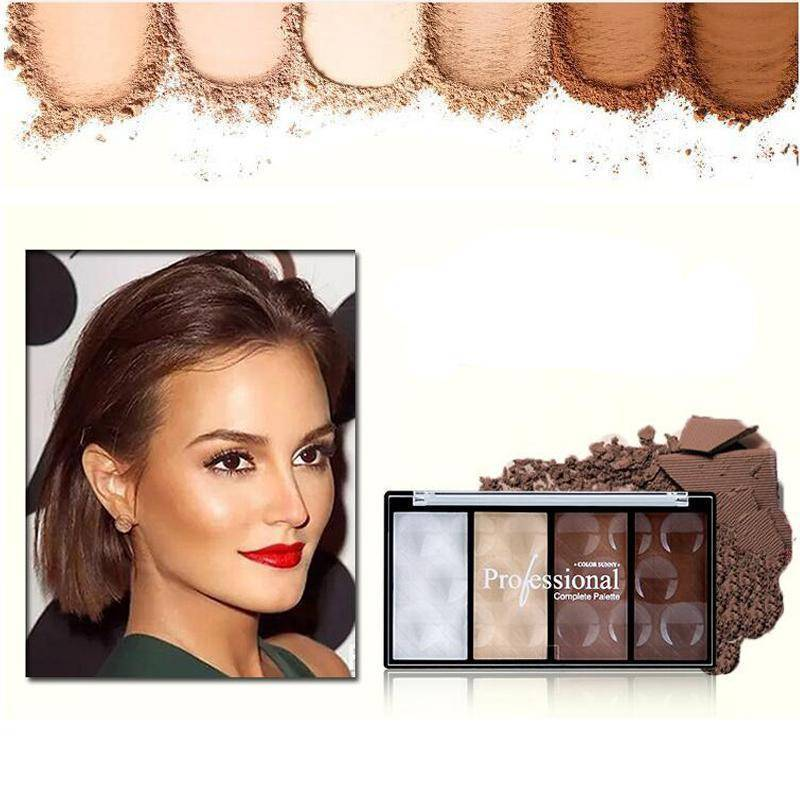 4 Colors Concealer bronze Camouflage Makeup Neutral Palette