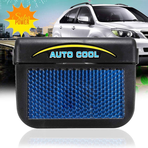 Image of Solar-Powered Car Air Ventilation Fan