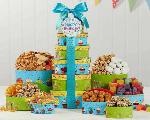 Make a Wish Gift Tower by Wine Country Gift Baskets